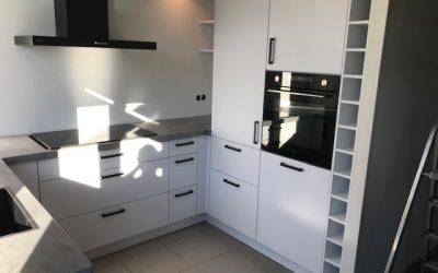 Nieuwe keuken in Halsteren