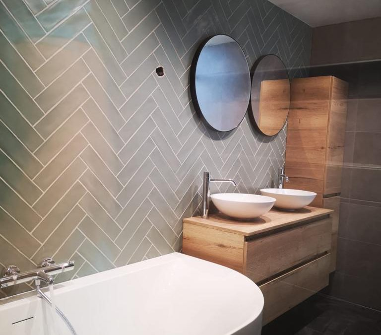 Mooie badkamer op de Bergse Plaat