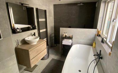 Een nieuwe badkamer in Sint-Maartensdijk